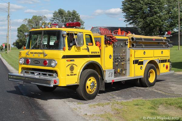 Engine 75 - 1980 Ford C/E-One Pumper – 1000gpm/1000gal