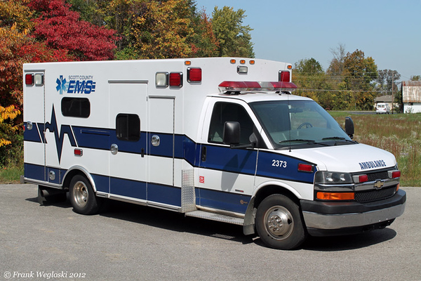 Former Ambulance 4 (2373) - 2007 Ford E450/Braun Type III