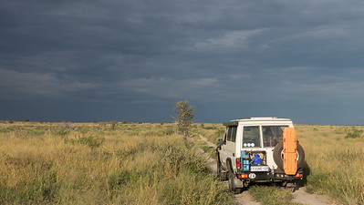On the Road in Africa