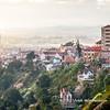 Panoramic view the haute-ville onto Madagascar's capital Antananarivo