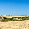 A local graveyard in the dunes, near Manombo, Madagascar