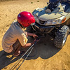 And then the guide's quad broke down and had to be towed back to the hotel 15 long kilometers, Manombo, Madagascar