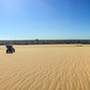 The unspoiled dunes of Manombo beach, Madagascar