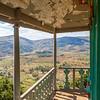 View from the top floor of the Tranofitaratra pavilion, Royal Hill of Ambohimanga, Antananarivo, Madagascar