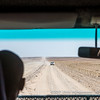 Driving next to the actual road due to severe washboard on the C14 towards Walvis Bay, Namibia