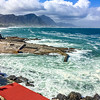 Old harbour of Hermanus, Western Cape, South Africa