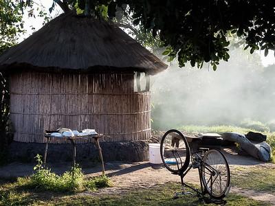 Hut at Shoebill camp