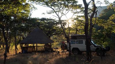 Lavushi Peak Campsite