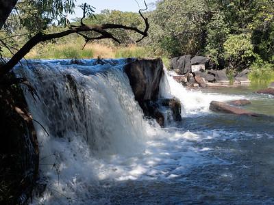 Mumbatutu falls in Lavushi Manda