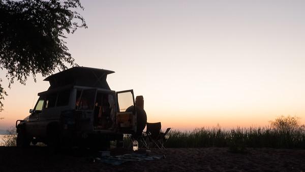 Camping at Ndole Bay Lodge