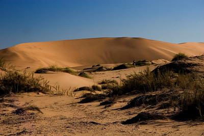 Dune field around Walvis Bay, Namibia