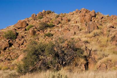 Namibian outcrops near Walvis Bay