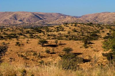 Landscape around Windhoek, Namibia