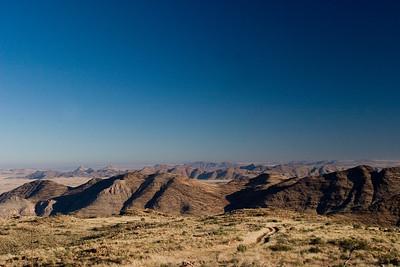 Central Namibian uplift
