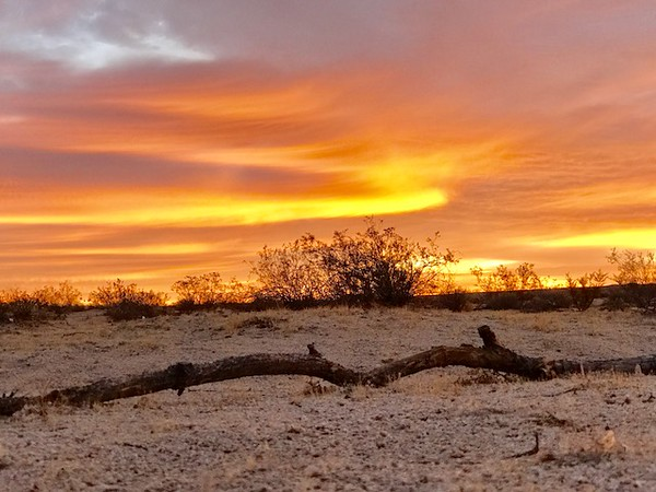 High Desert Sunrise, Dec 2017