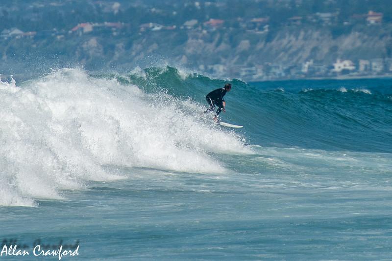 Surfing at Trestles