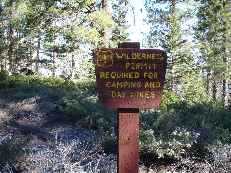 We were able to self issue our permit at Mill Creek Ranger Station.<br /> <br /> San Gorgonio Wilderness : South Fork : Dry Lake : San Gorgonio Mountain : Dollar Lake