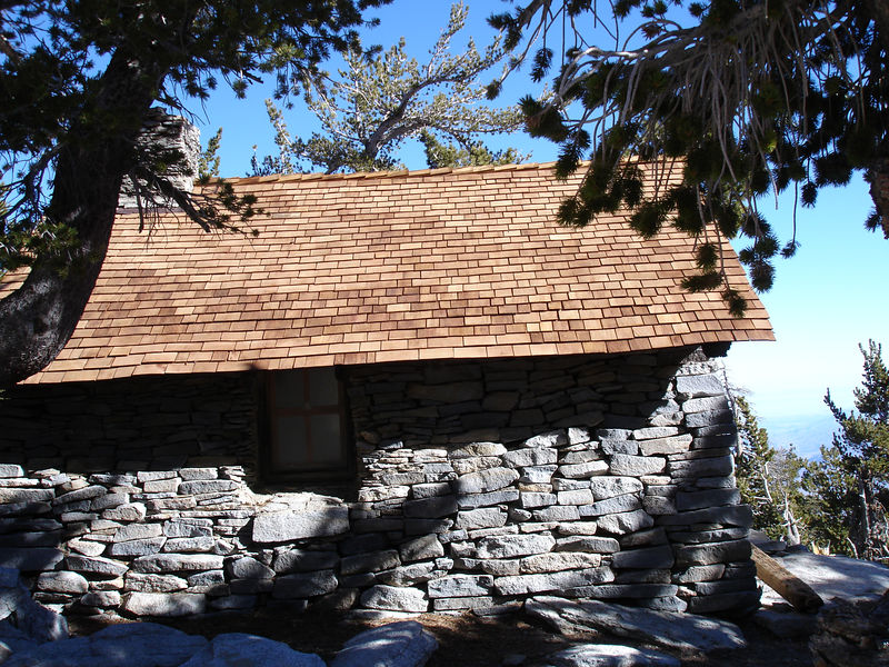 Summit Hut and New Roof