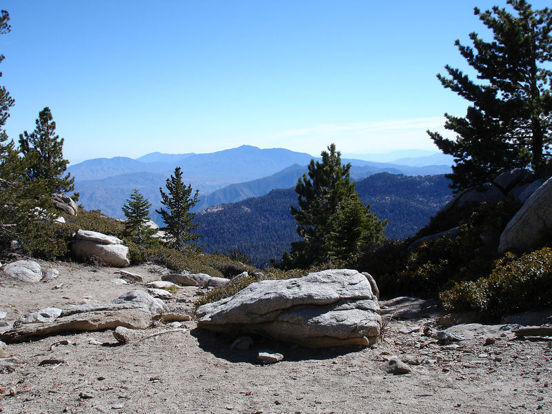 South From Wellman Divide