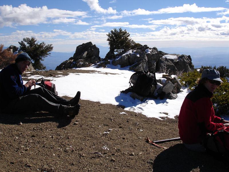 Cucamonga Summit.