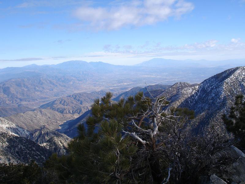East from Telegraph Peak.