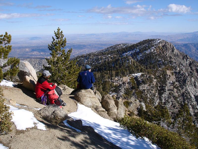 East from Cucamonga Peak.
