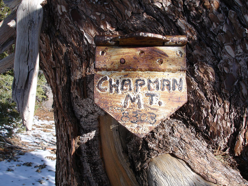 The Chapman family would like to rename Timber Mountain.