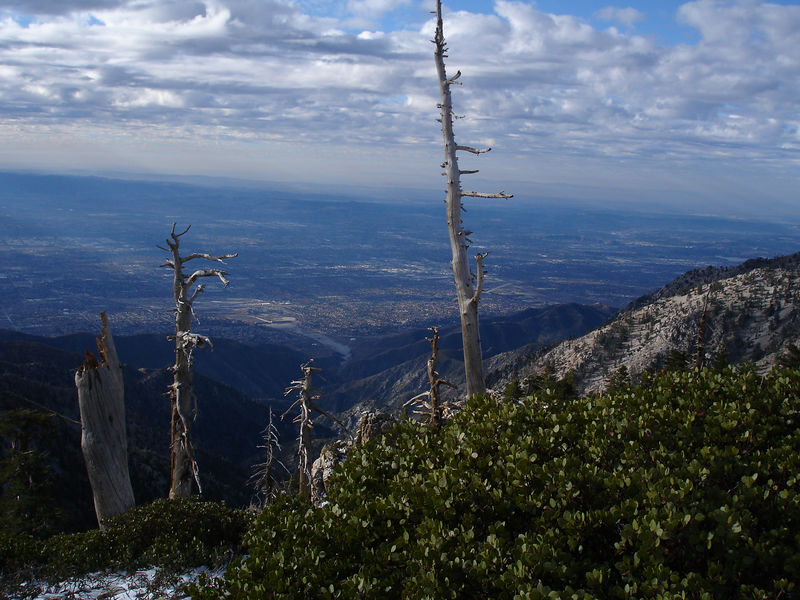 South West from Bighorn Peak.