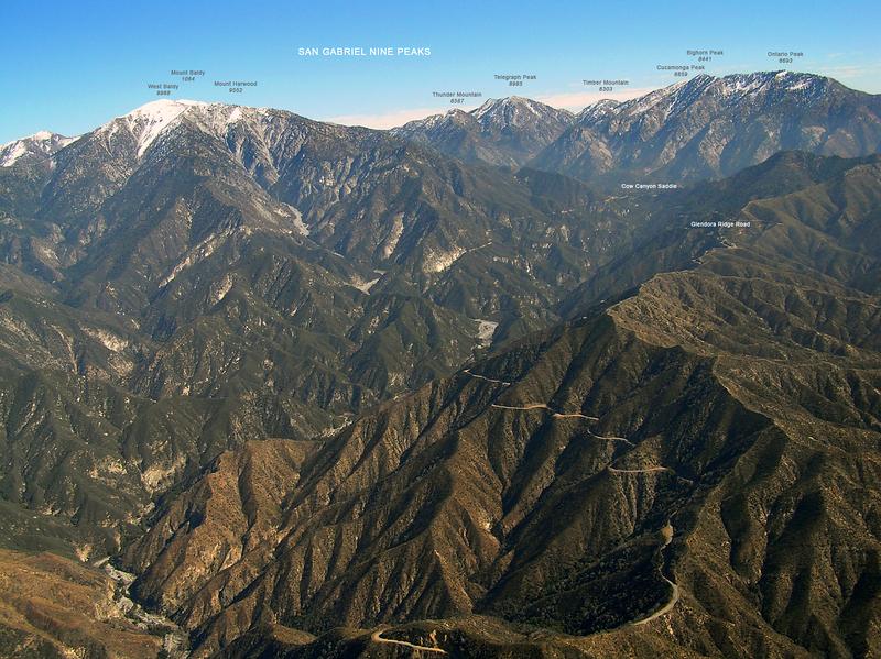 San Gabriel Nine Peaks.