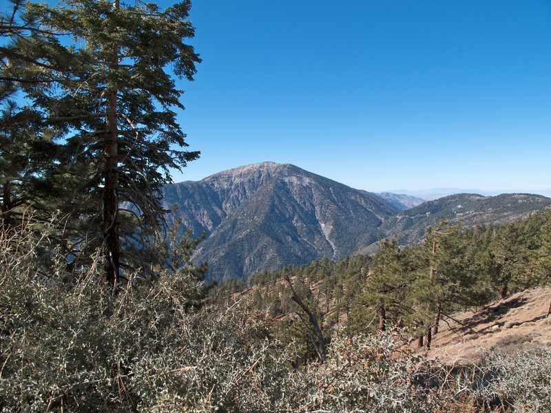 Mount Baden-Powell (9,407 ft) is the 4th highest peak of the San Gabriel Range.