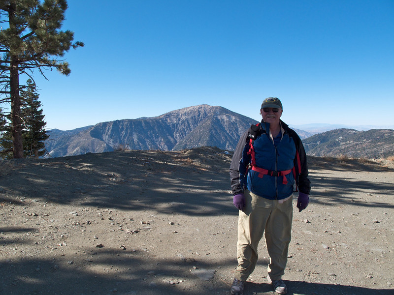 Bill Landrey and Mt Baden-Powell.