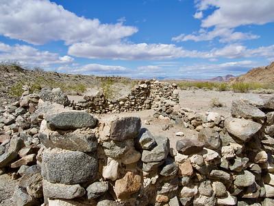 Rock structure at Salt Creek Springs