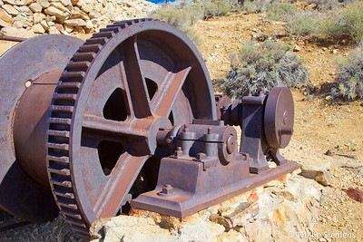 Winch at Lost Horse mine