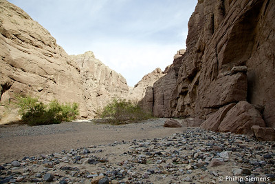 Beginning of hike at Painted Canyon