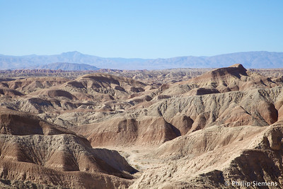 Anza Borrego badlands