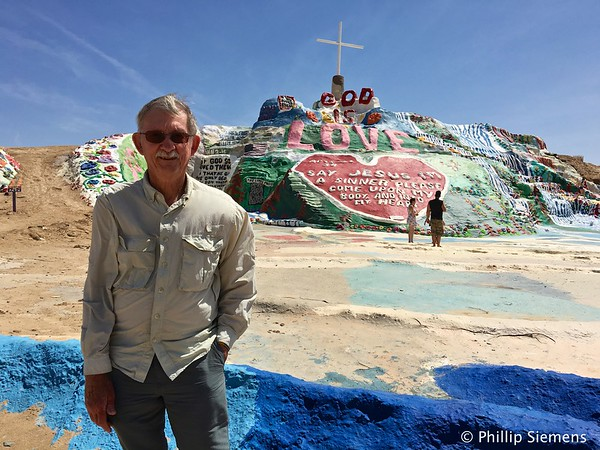 At Salvation Mountain