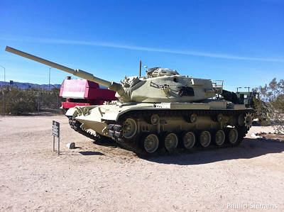 Tank at the Patton Museum