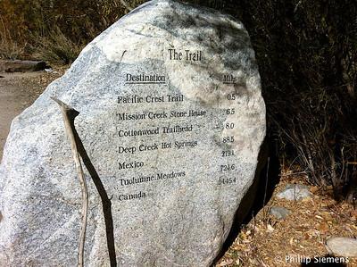 Trail marker