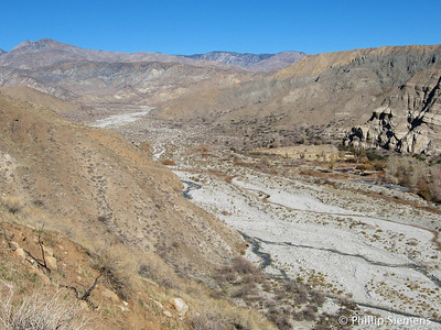 Whitewater Preserve headquarters below