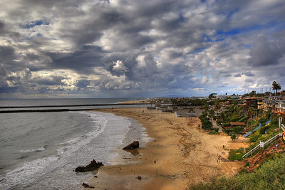 By the Beach At Corona Del Mar