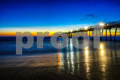 Redondo Beach Pier Dusk