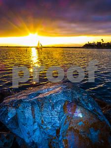 Santa Monica Sunseting