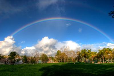 Rainbow Over Laguna Hills