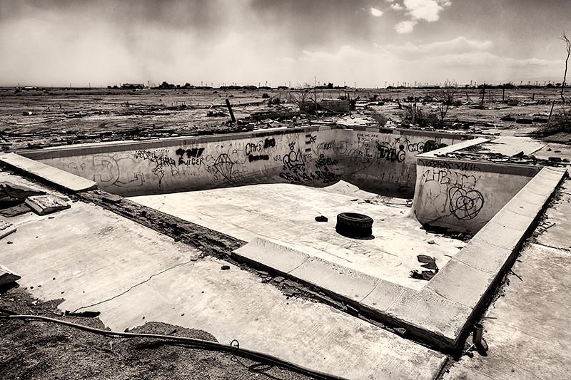 Ruins, Salton Sea Beach, California