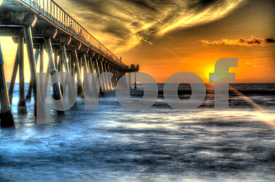 Hermosa Beach Glowing
