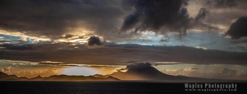Amazing Sky at Sunrise