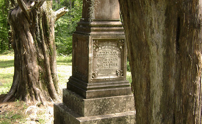 Tomb stone in Rocky Springs, Mississippi cemetery Southern cemetery's provide some great opportunities for photos.