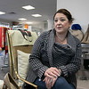 Owner of Southern Daisies Boutique in Leominster Jenna Charon talks about her new shop on Wednesday, Jan. 8, 2020. SENTINEL & ENTERPRISE/JOHN LOVE