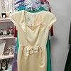 Owner of Southern Daisies Boutique in Leominster Jenna Charon talks about her new shop on Wednesday, Jan. 8, 2020. A Donna Ricco dress for sale in the shop. SENTINEL & ENTERPRISE/JOHN LOVE