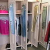 Owner of Southern Daisies Boutique in Leominster Jenna Charon talks about her new shop on Wednesday, Jan. 8, 2020. some school lockers are used to display some of the clothing she has for sale in her shop. SENTINEL & ENTERPRISE/JOHN LOVE
